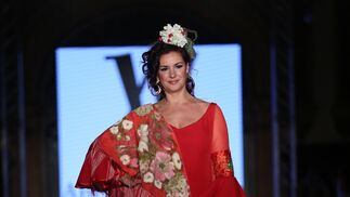 Ángeles Verano, fotos del desfile en We Love flamenco 2019
