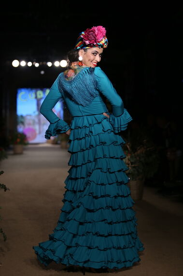 Rocío Olmedo, las fotos del desfile en We Love Flamenco 2019