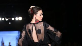 Carmen Acedo, fotos del desfile en We Love Flamenco 2019