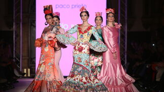 Paco Prieto, fotos del desfile en We Love Flamenco 2019