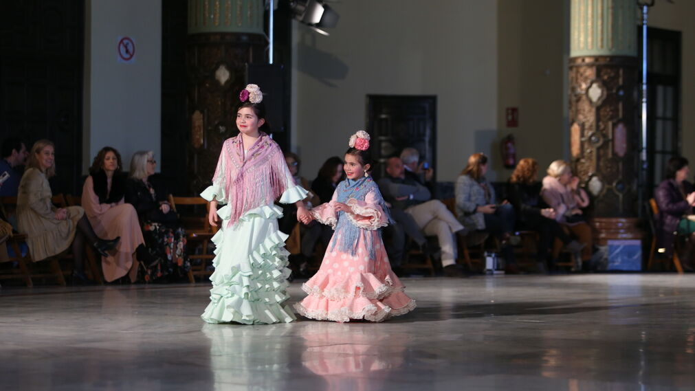 Carmen Acedo, fotos del desfile de moda infantil de Viva by We Love Flamenco 2019