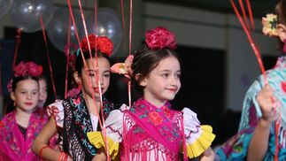Rocío Peralta, fotos del desfile de moda infantil en Viva by We Love Flamenco 2019