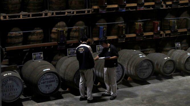 Taiwán sorprende al mundo con sus whiskies de botas de Jerez