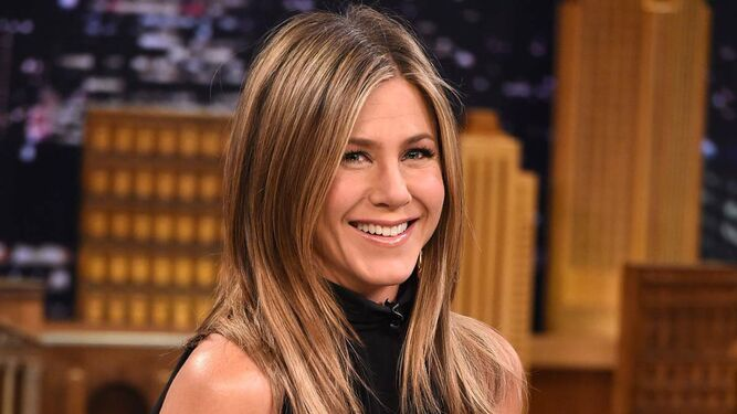 La actriz Jennifer Aniston.