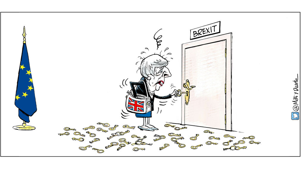 Theresa May y el Brexit
