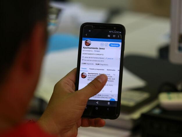 Hackean la cuenta de Twitter del Ayuntamiento de Jerez