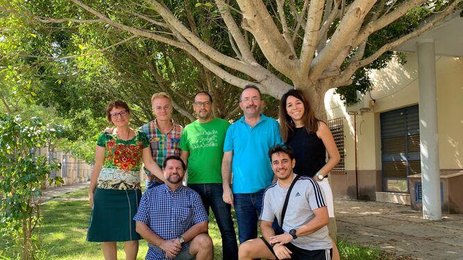 Parte del equipo docente y directivo del IES Fernando Savater.