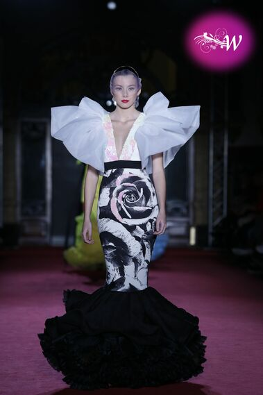El desfile de Antonio Arcos en Viva by We Love Flamenco 2020, en fotos