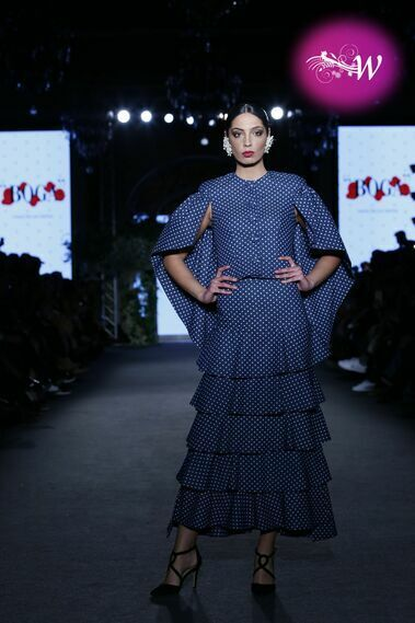 Desfile de Laura de los Santos en We Love Flamenco 2020