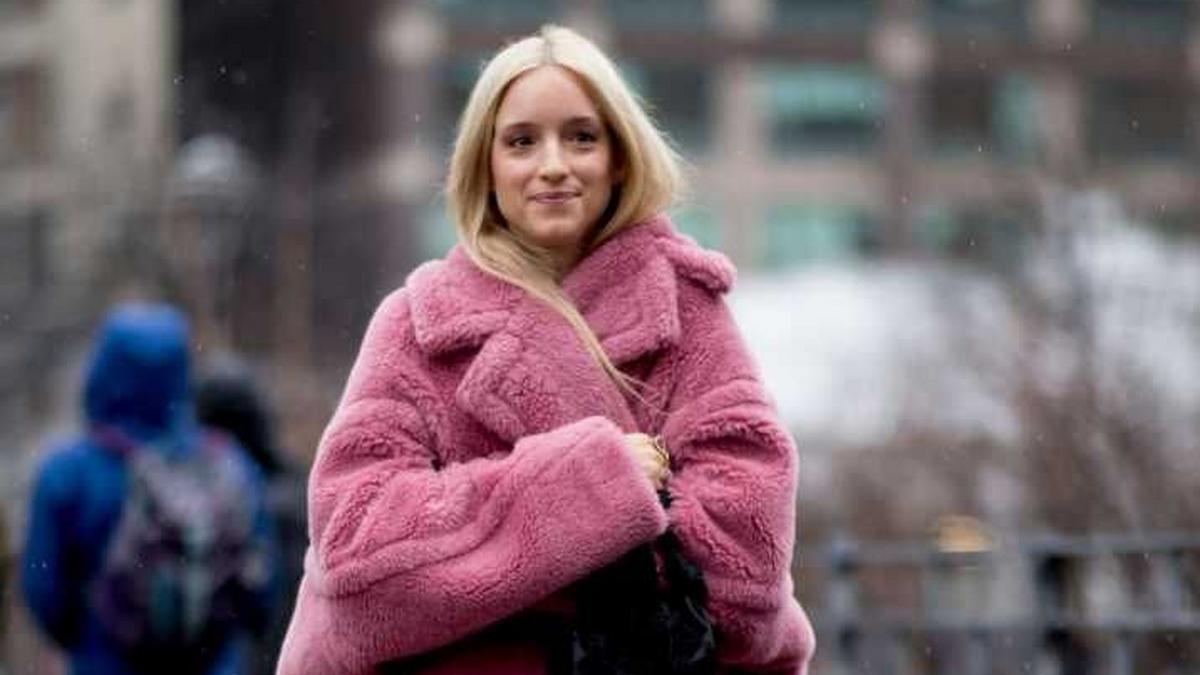 H&M tiene el abrigo rosa más...