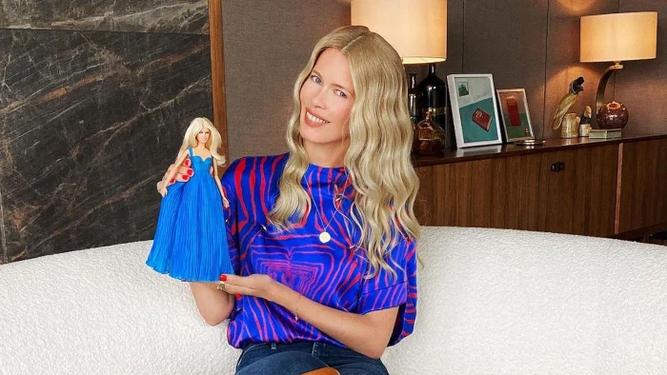 Claudia Schiffer, una Barbie en su...