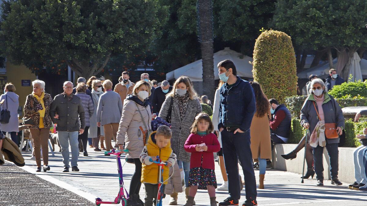 La tasa de incidencia vuelve a bajar en Jerez tras el leve repunte del viernes