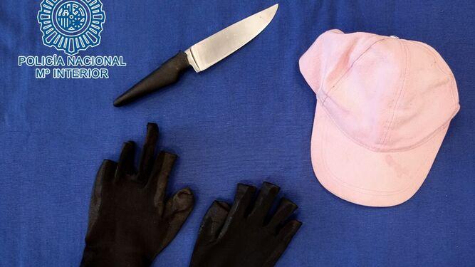 A prisión los atracadores a punta de cuchillo del centro.