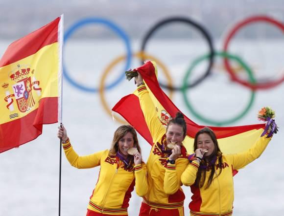 Londres 2012 las chicas de la vela ganan el tercer oro - Las chicas de oro espana ...